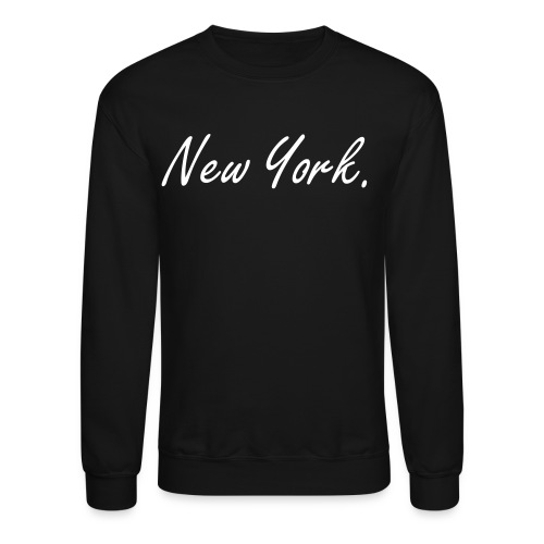 New York print Sweater - Crewneck Sweatshirt