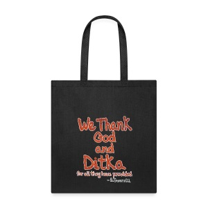 We Thank God and Ditka - Tote Bag
