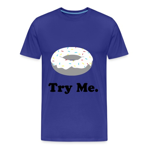 Donut Try Me - Men's Premium T-Shirt