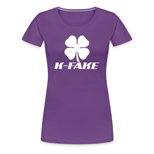 Ladies K-FAKE Fitted Tee - Women's Premium T-Shirt