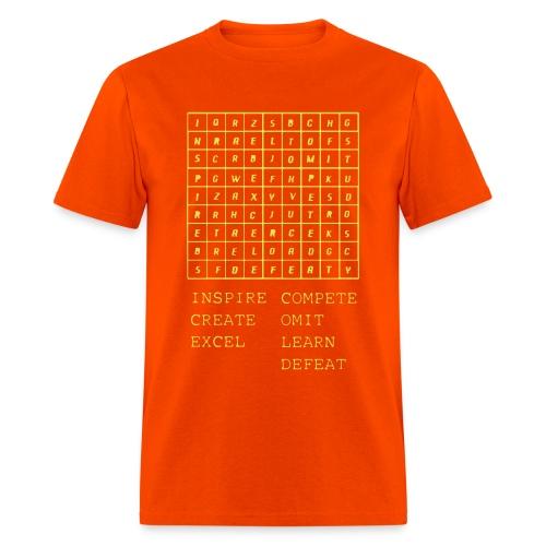 IceCold Crossword Yellow - Men's T-Shirt