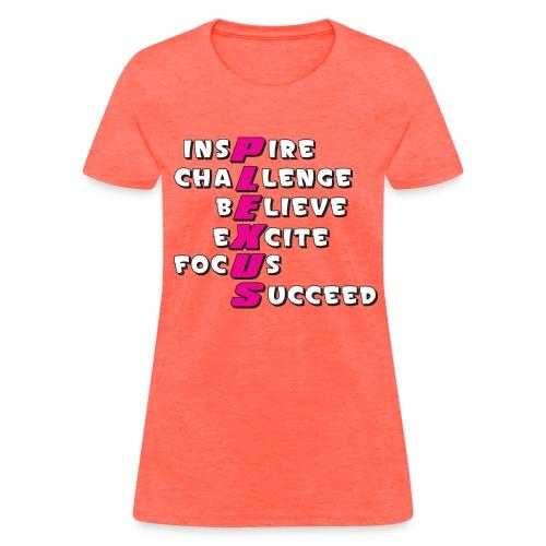 Plexus Pink Text - Women's T-Shirt