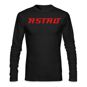 Mens Astro Long Sleeve - Men's Long Sleeve T-Shirt by Next Level