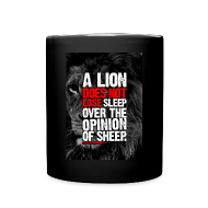 Mugs & Drinkware ~ Full Color Mug ~ A lion art | mug