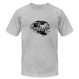 Original CREative Krew Worldwide (T-Shirt) - Men's Fine Jersey T-Shirt