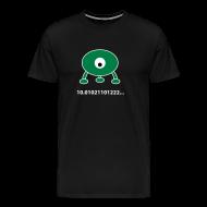 T-Shirts ~ Men's Premium T-Shirt ~ Pi in base 3
