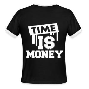 Self-made millionaire t-shirt - Men's Ringer T-Shirt