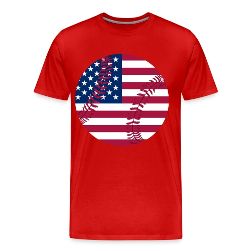 Red, White, Blue - Men's Premium T-Shirt