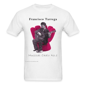 Tarrega's Musical Chair No.1 - Men's T-Shirt