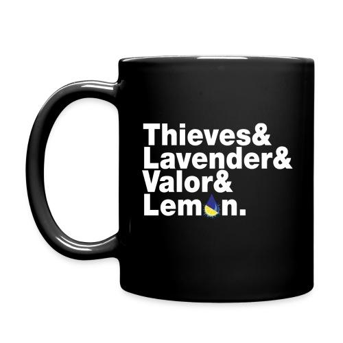 Thieves&Lavender&Valor&Lemon Mug - Full Color Mug