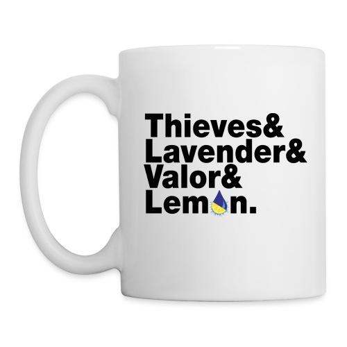 Thieves&Lavender&Valor&Lemon Mug - Coffee/Tea Mug