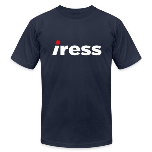 Iress logo t-shirt - Men's Fine Jersey T-Shirt