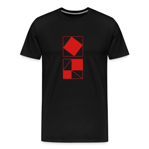Proof of Pythagoras - Men's Premium T-Shirt