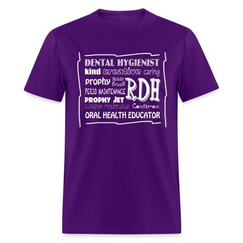 Dental Hygienist Word Art - Men's T-Shirt