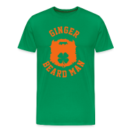 T-Shirts ~ Men's Premium T-Shirt ~ Ginger Beard Man