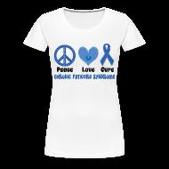 Women's T-Shirts ~ Women's Premium T-Shirt ~ Chronic Fatigue Syndrome Womens T-shirt