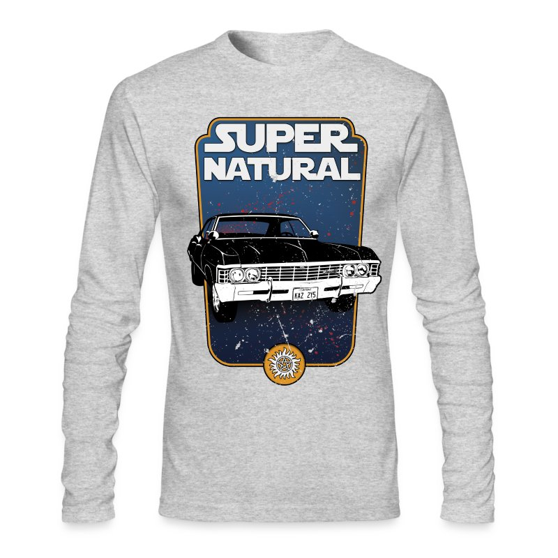 superstarnatural - Men's Long Sleeve T-Shirt by Next Level