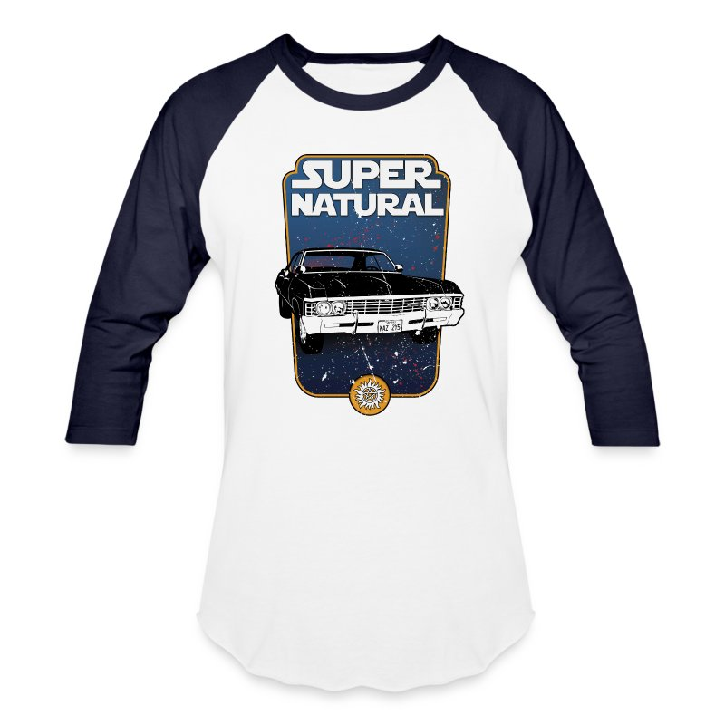 superstarnatural - Baseball T-Shirt