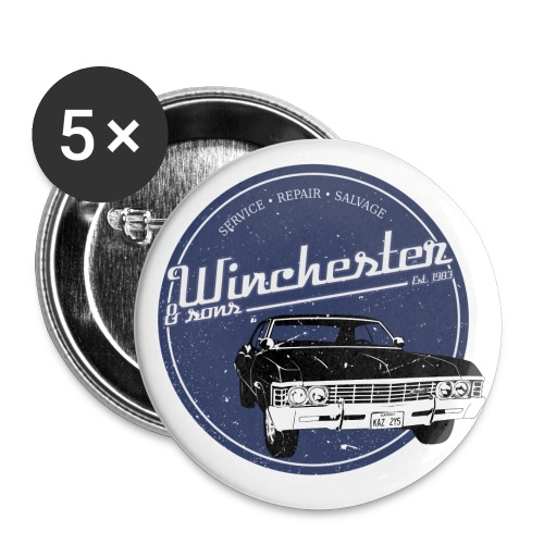 winchester and sons - Large Buttons