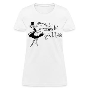 Domestic Goddess - Women's T-Shirt