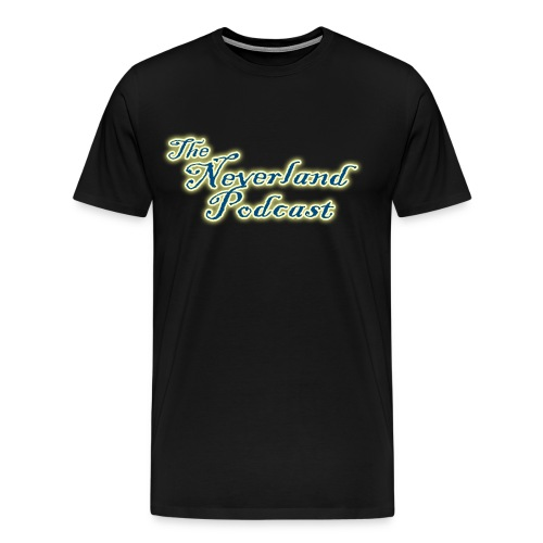 The Neverland Podcast Logo - Men's Premium T-Shirt