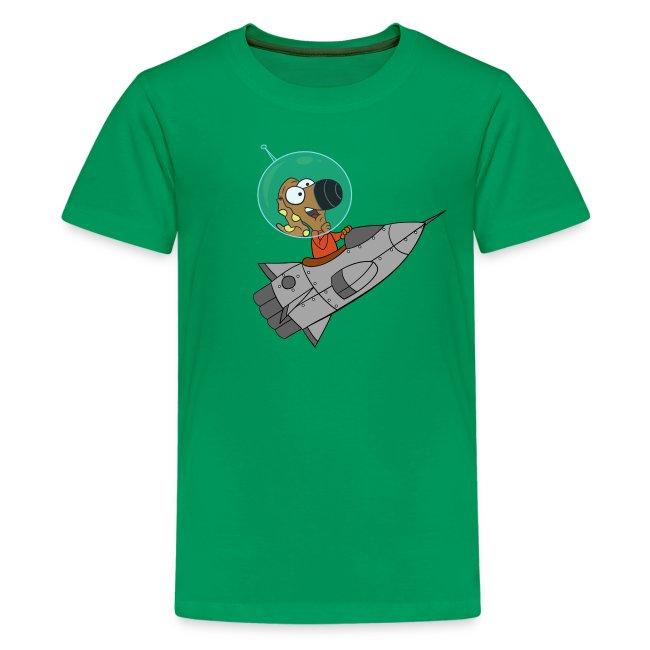 Rantdog Rocket Kid's T-shirt