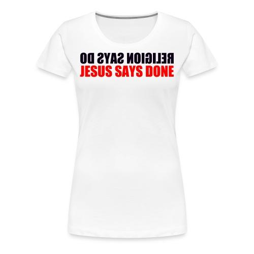 The Finisher - Women's Premium T-Shirt