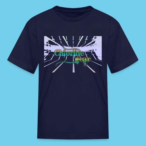 Chlorine Gear Text branded- Kid's Tee - Kids' T-Shirt