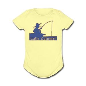 Lake Calumet - Short Sleeve Baby Bodysuit