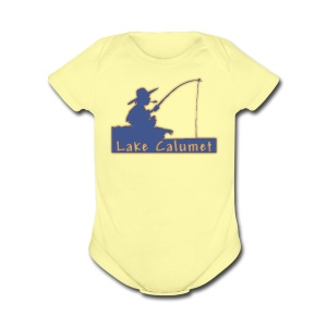 Lake Calumet - Short Sleeve Baby Bodysuit