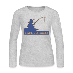 Lake Calumet - Women's Long Sleeve Jersey T-Shirt