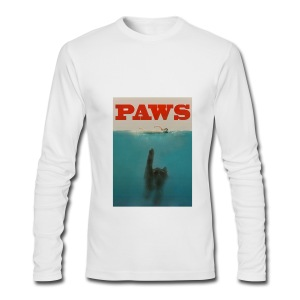 PAWS - Men's Long Sleeve T-Shirt by Next Level
