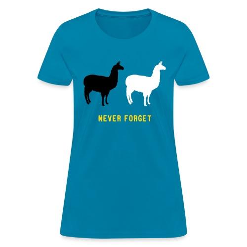 Llama Chase 2015 - Women's T-Shirt