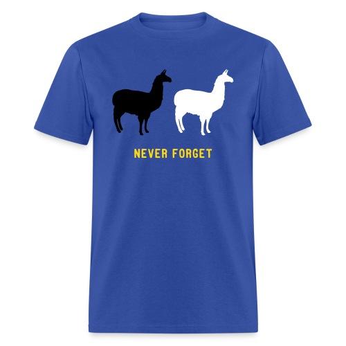 Llama Chase 2015 - Men's T-Shirt