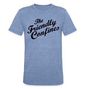 Confines - Unisex Tri-Blend T-Shirt by American Apparel