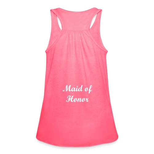 Maid of Honor - Women's Flowy Tank Top by Bella