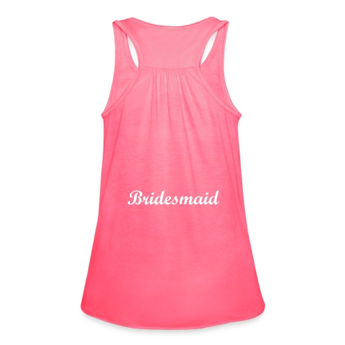 Bridesmaid - Women's Flowy Tank Top by Bella