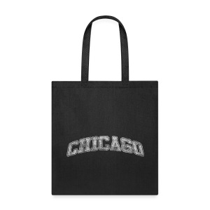 Chicago Distressed Chi - Tote Bag