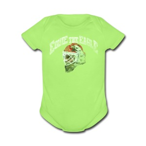 Eddie Eagle Chi - Short Sleeve Baby Bodysuit