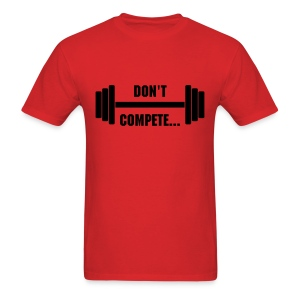 MDK Don't Compete- Red (Mens) - Men's T-Shirt