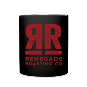 RRC Black Double R Mug - Full Color Mug