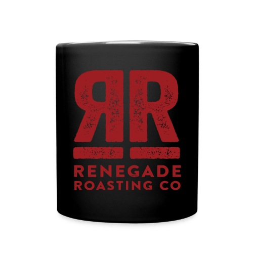 RRC Black Double R Mug - Full Color Mug