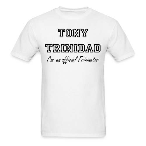 Official Trininator Tee Shirt - Men's T-Shirt