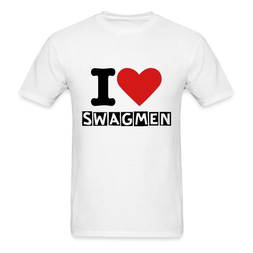 I Love SwagMen T-Shirt - Men's T-Shirt