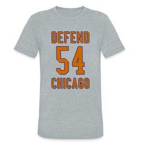Defend Chicago - Unisex Tri-Blend T-Shirt by American Apparel