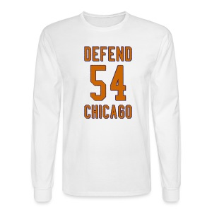 Defend Chicago - Men's Long Sleeve T-Shirt