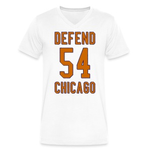 Defend Chicago - Men's V-Neck T-Shirt by Canvas