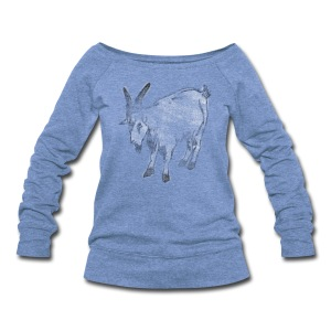 Goat - Women's Wideneck Sweatshirt