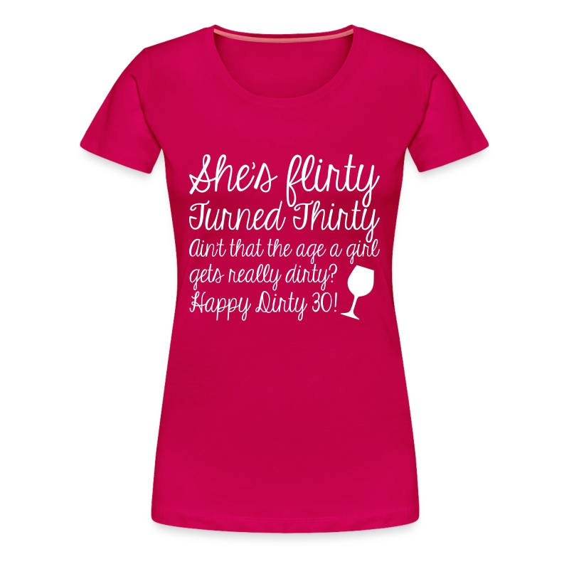 dirty - Women's Premium T-Shirt