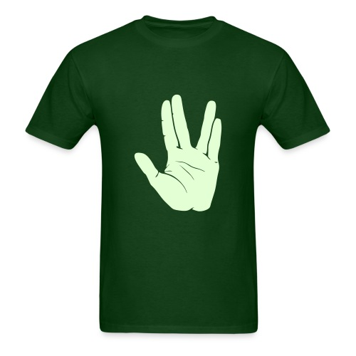 Live Long & Prosper (custom color) - Men's T-Shirt